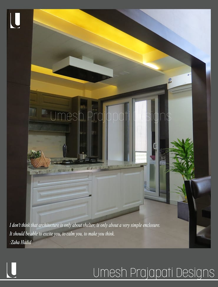 Kitchen by umesh prajapati designs