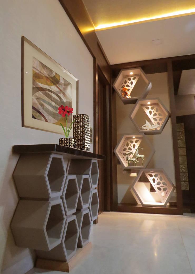Corridor & hallway by umesh prajapati designs