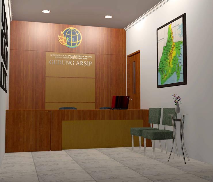 Gedung Arsip ATR/BPN Kab. Tanah Bumbu:   by Firsandi Architect Studio