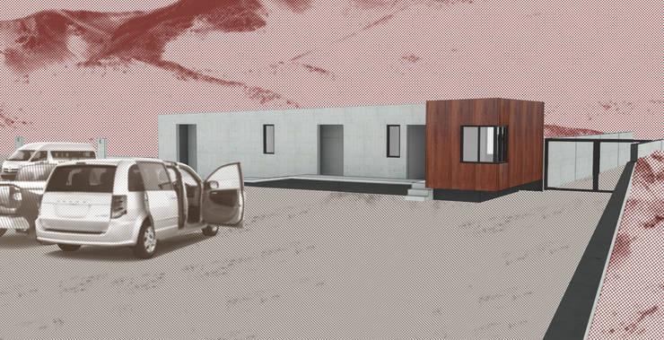 Museo mina San José: Casas de estilo  por Materia prima arquitectos