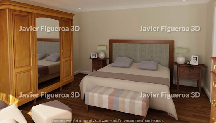Bedroom by Javier Figueroa 3D, Classic