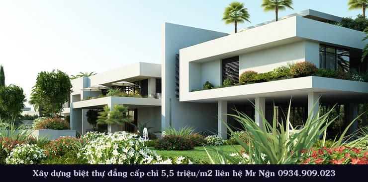 Những mẫu biệt thự cao cấp đẹp mắt nhất hiện nay:  Đồ điện tử by TNHH xây dựng và thiết kế nội thất AN PHÚ CONs 0911.120.739
