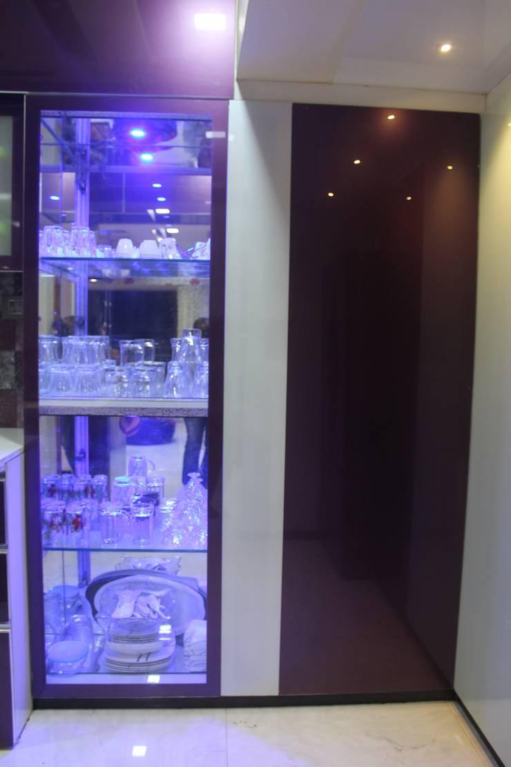 2.5 BHK Casa Rio,Palava, Dombivali. Modern kitchen by VR Interior Designerss Modern