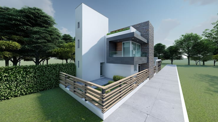 Small houses by DISARQ ARQUITECTOS.