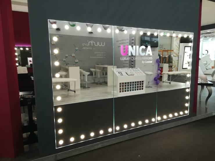 صالات عرض تنفيذ Unica by Cantoni