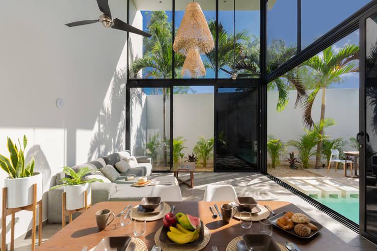 Hoteles de estilo  por CO-TA ARQUITECTURA