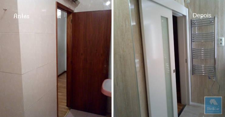 Modern Bathroom by Obr&Lar - Remodelação de Interiores Modern