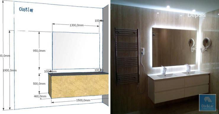 modern  by Obr&Lar - Remodelação de Interiores, Modern
