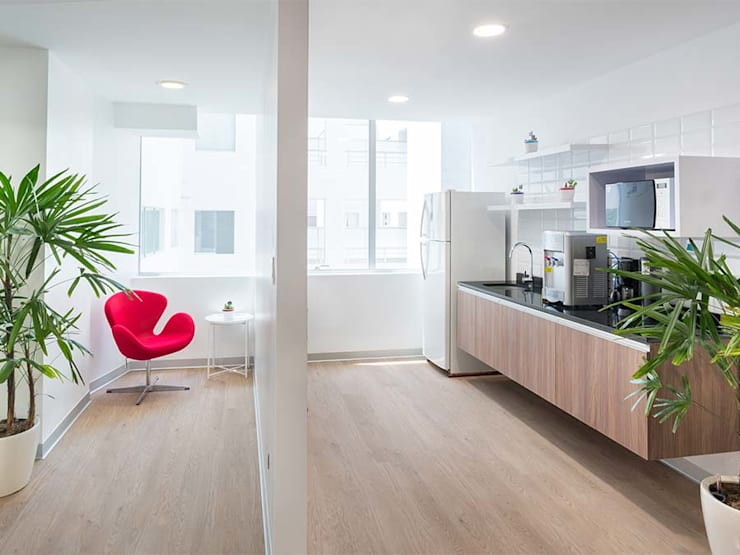 Kitchennette: Cocina de estilo  por LINEA & PUNTO - Diseño y Fabricacion de Muebles