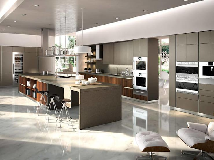Cocina: Cocina de estilo  por LINEA & PUNTO - Diseño y Fabricacion de Muebles