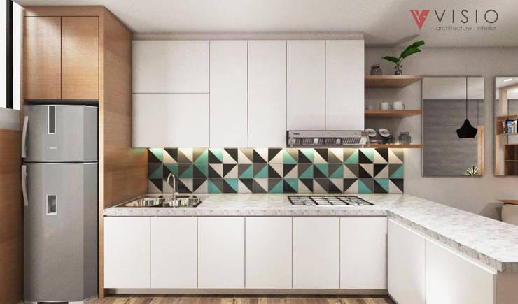 Tomang Residence:  Dapur by PT VISIO GEMILANG ABADI