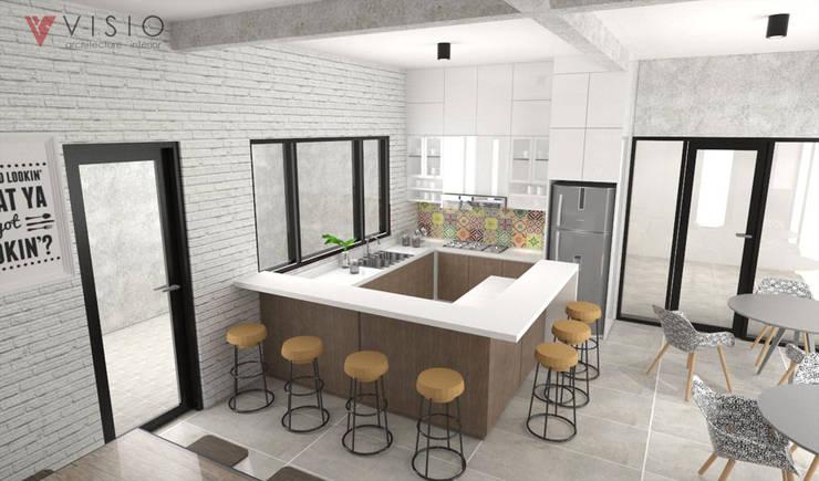 Office Pantry:  Kantor & toko by PT VISIO GEMILANG ABADI