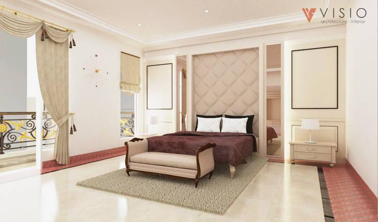 Gading Mediterania Residence:  Kamar Tidur by PT VISIO GEMILANG ABADI