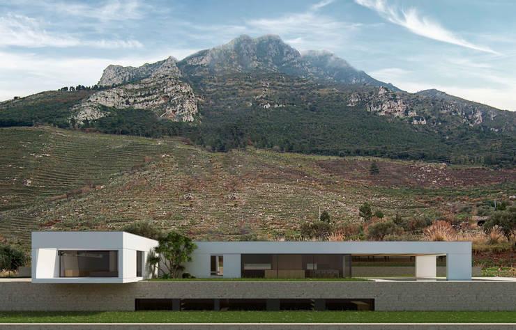 Вилла в . Автор – ALESSIO LO BELLO ARCHITETTO a Palermo, Модерн