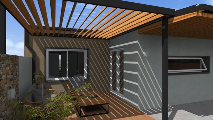 Vivienda L+S: Casas de estilo  por Arquitecto Emiliano Quintero,