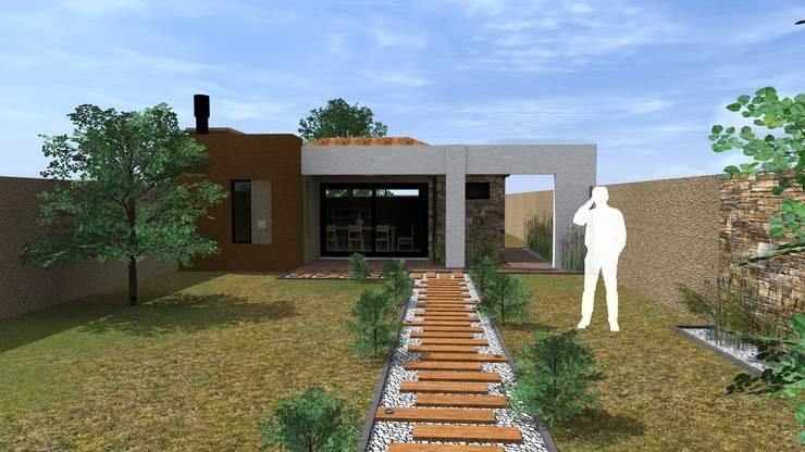 Projekty,  Domy zaprojektowane przez Arquitecto Emiliano Quintero, Nowoczesny