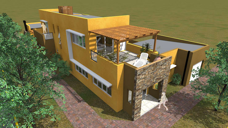 Casas estilo moderno: ideas, arquitectura e imágenes de Arquitecto Emiliano Quintero Moderno