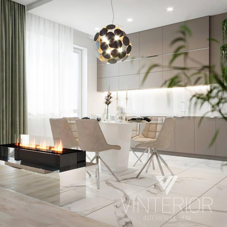 Modern Apartment Design von Vinterior - дизайн интерьера Minimalistisch