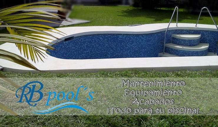 """RB Pools:  de estilo {:asian=>""""asiático"""", :classic=>""""clásico"""", :colonial=>""""colonial"""", :country=>""""país"""", :eclectic=>""""ecléctico"""", :industrial=>""""industrial"""", :mediterranean=>""""Mediterráneo"""", :minimalist=>""""minimalista"""", :modern=>""""moderno"""", :rustic=>""""rústico"""", :scandinavian=>""""escandinavo"""", :tropical=>""""tropical""""} por RB Pools,"""