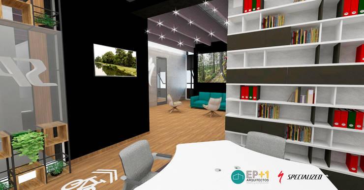 Diseño de Oficinas:  de estilo  por EP+1 Arquitectos
