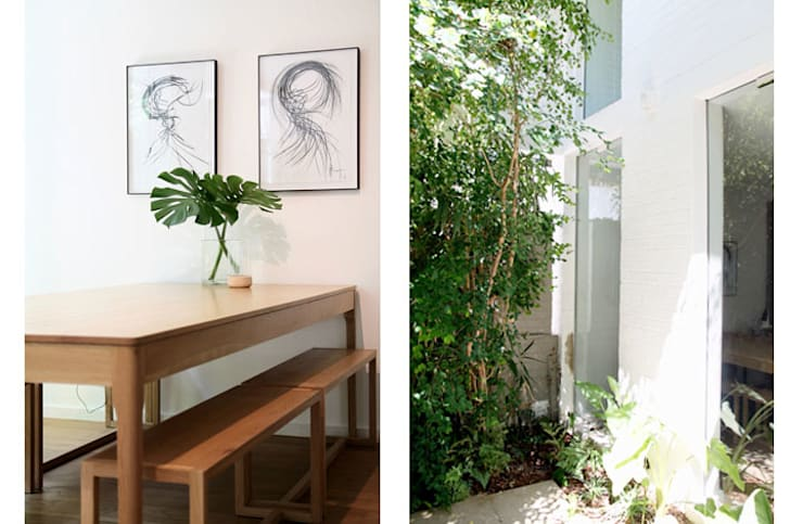 Dining Room:  Small houses by Metaphor Design