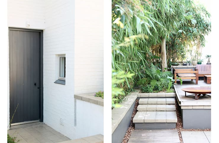 Entrance & Garden:  Small houses by Metaphor Design,