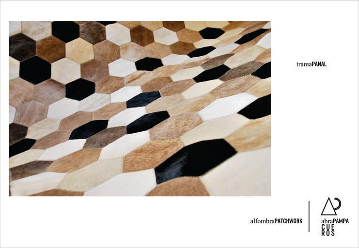 AbraPampa alfombras de Cuero de OFICINA arquitectura&diseño