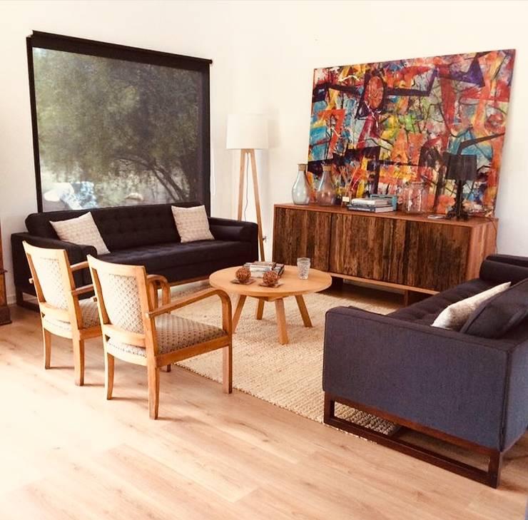 Vivienda Eco Casablanca: Livings de estilo  por INFINISKI