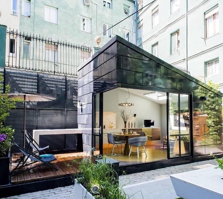 Vivienda Ecológica Infiniski en Exposición: Casas ecológicas de estilo  por INFINISKI
