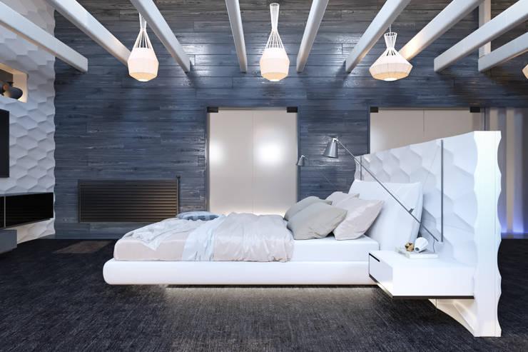 Arcada : Спальни в . Автор – YermolovDesign, Эклектичный