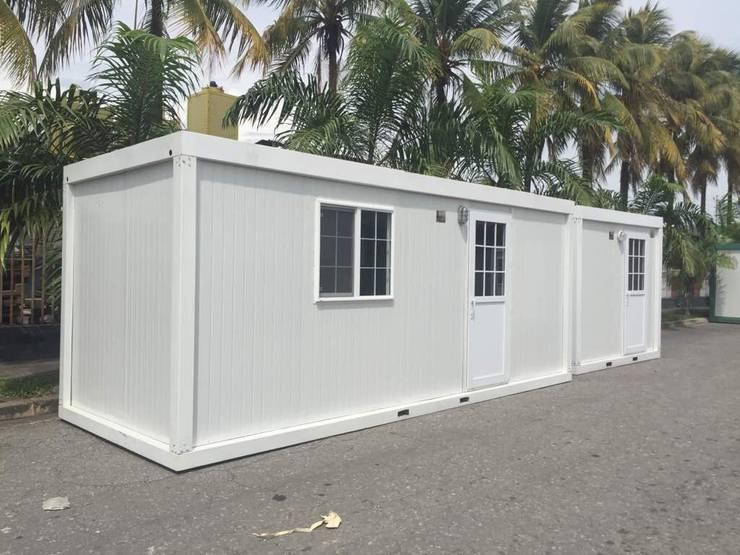 Cabinas de Campo: Espacios comerciales de estilo  por P&S Global Mining SAC