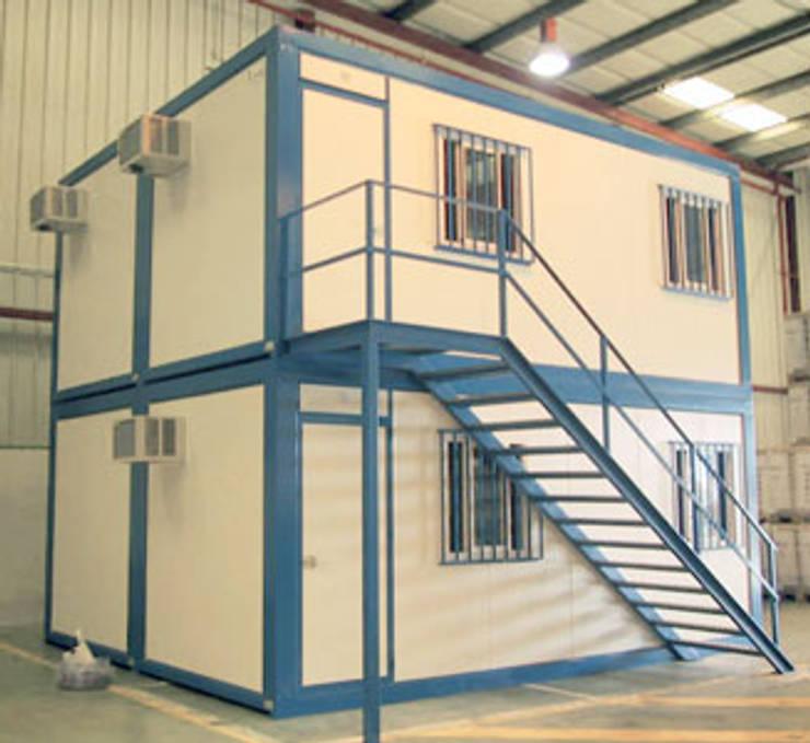 Cabinas Modulares: Espacios comerciales de estilo  por P&S Global Mining SAC