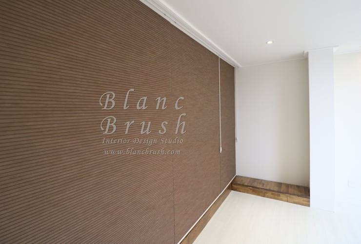 서초동 금호 어울림 아파트 46평 인테리어: 블랑브러쉬의  방,모던