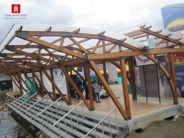 Muelles La Cocha  Vereda el Puerto - Año 2010:  de estilo  por EHG arquitectura y construcción