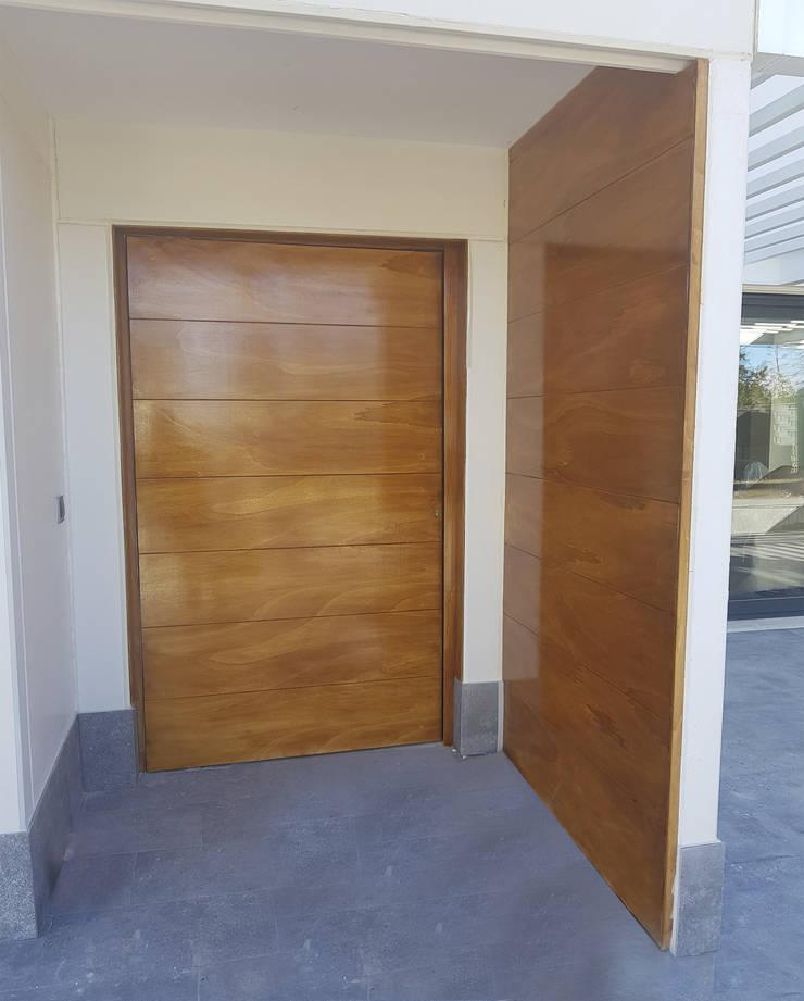 ประตูหน้า โดย MODULAR HOME, โมเดิร์น ไม้ Wood effect