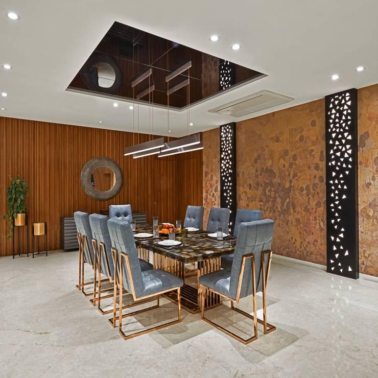 Rejuvenating Sundowner Modern dining room by Ar. Milind Pai Modern