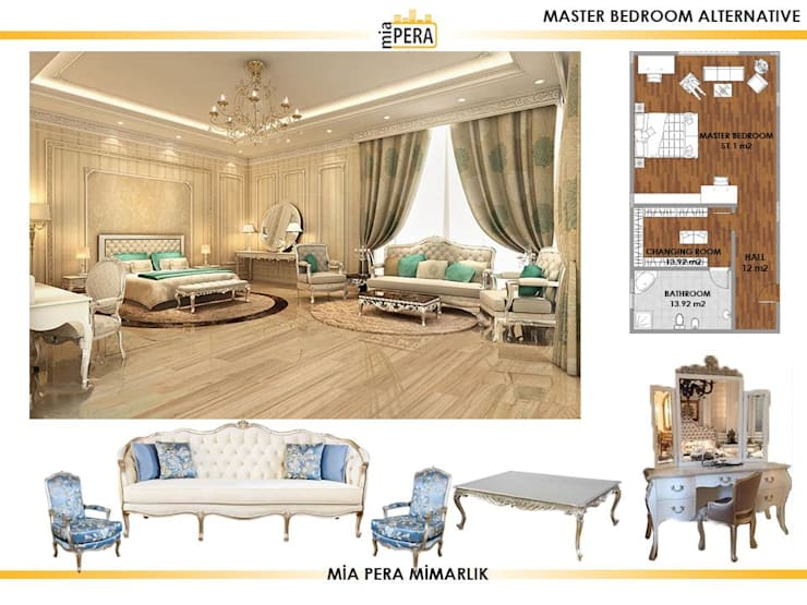 Small bedroom by Miapera MİMARLIK