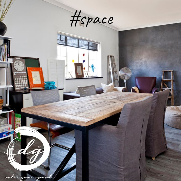 Space:  Study/office by Deborah Garth Interior Design International (Pty)Ltd