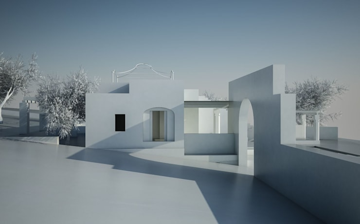 Small houses by architetto stefano ghiretti, Modern