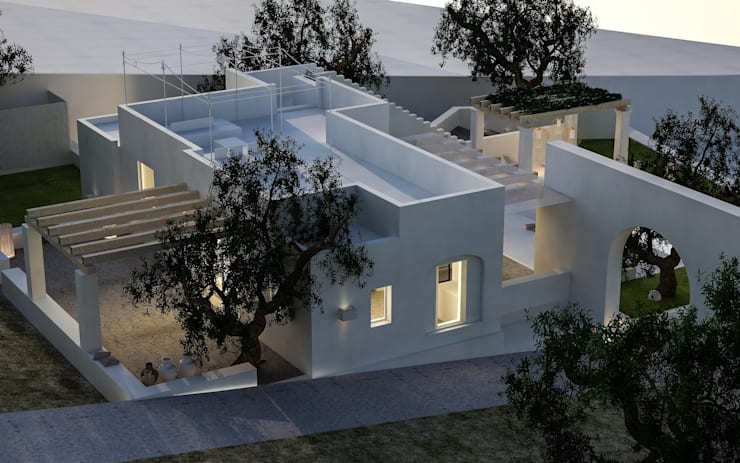 Houses by architetto stefano ghiretti, Modern