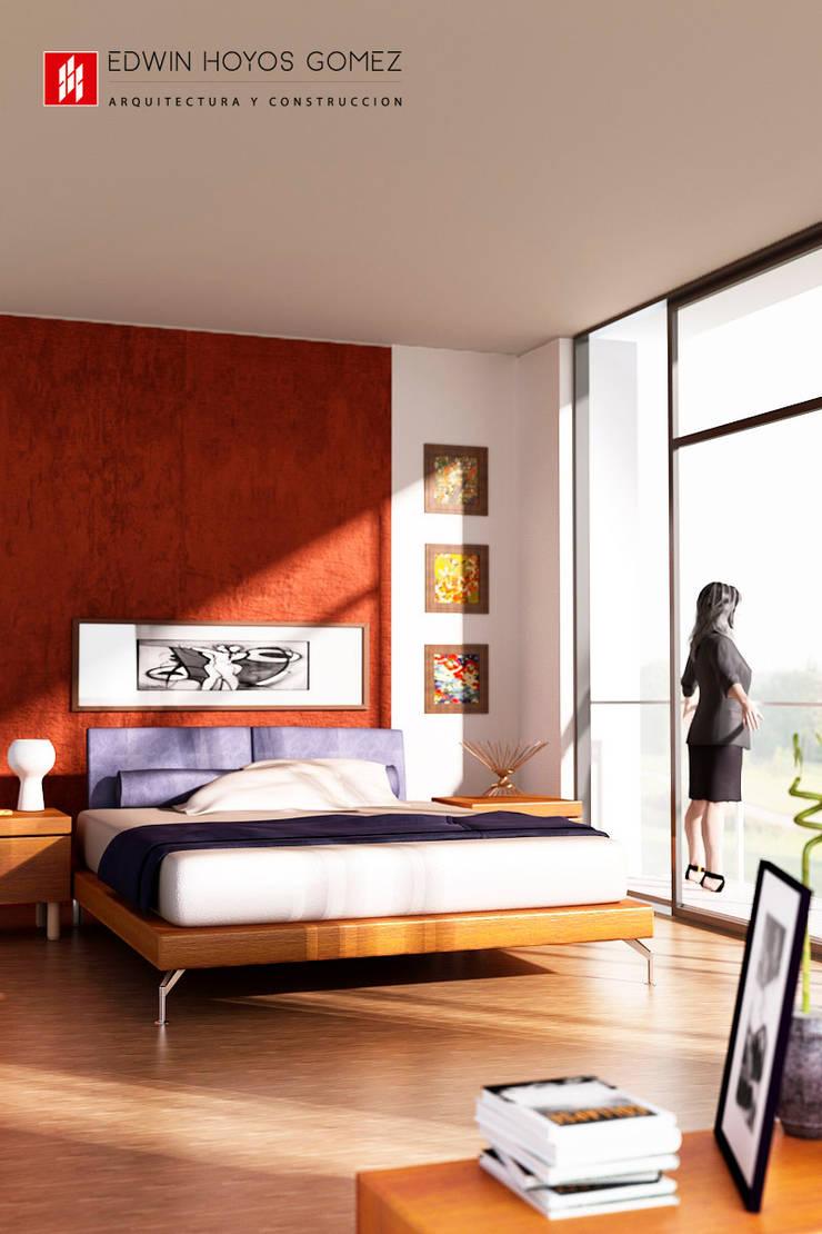 Vivienda Condominio LOS ANDES - Año 2011:  de estilo  por EHG arquitectura y construcción