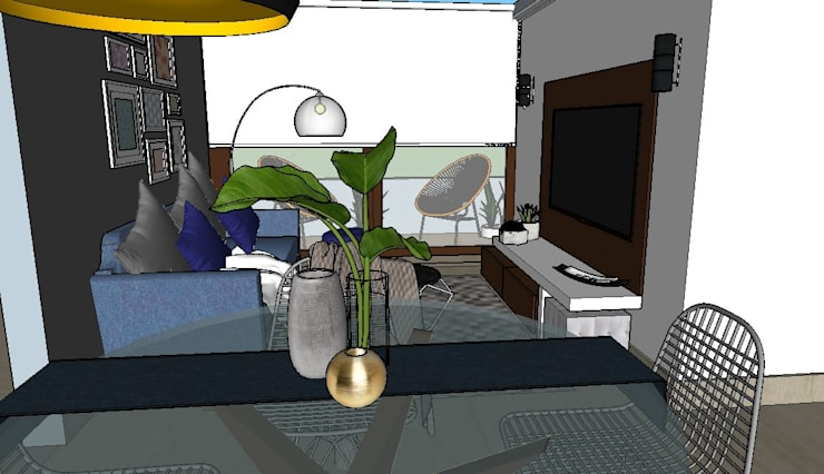 accesorios de de decoración : Terrazas  de estilo  por Cubicointerior