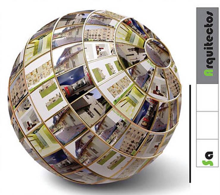Nuestra Pasión a tu Servicio!: Casas multifamiliares de estilo  por SaArquitectos