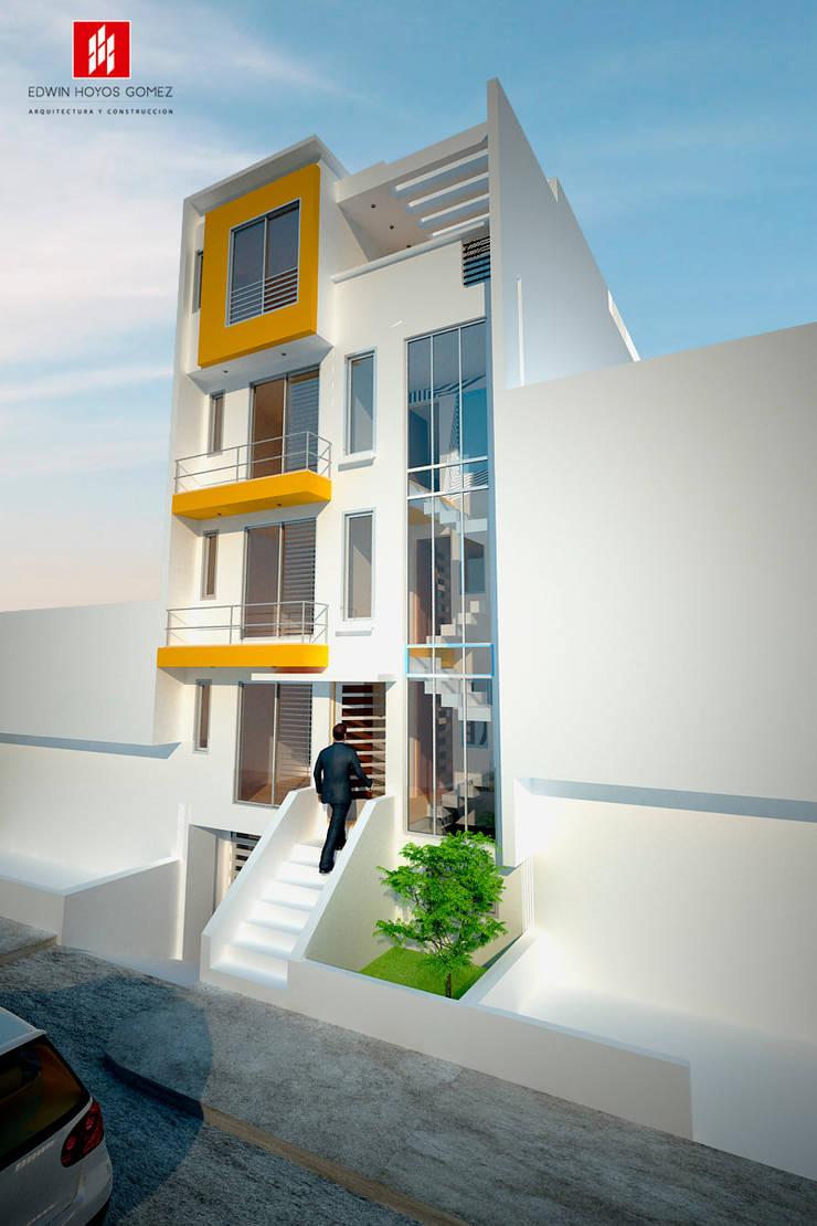 """Edificio Remansos del Norte - Año 2012:  de estilo {:asian=>""""asiático"""", :classic=>""""clásico"""", :colonial=>""""colonial"""", :country=>""""rural"""", :eclectic=>""""ecléctico"""", :industrial=>""""industrial"""", :mediterranean=>""""Mediterráneo"""", :minimalist=>""""minimalista"""", :modern=>""""moderno"""", :rustic=>""""rústico"""", :scandinavian=>""""escandinavo"""", :tropical=>""""tropical""""} por EHG arquitectura y construcción,"""
