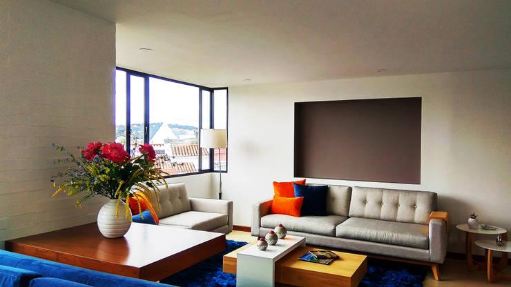 Moderne Wohnzimmer von EVA Arquitectos SAS Modern