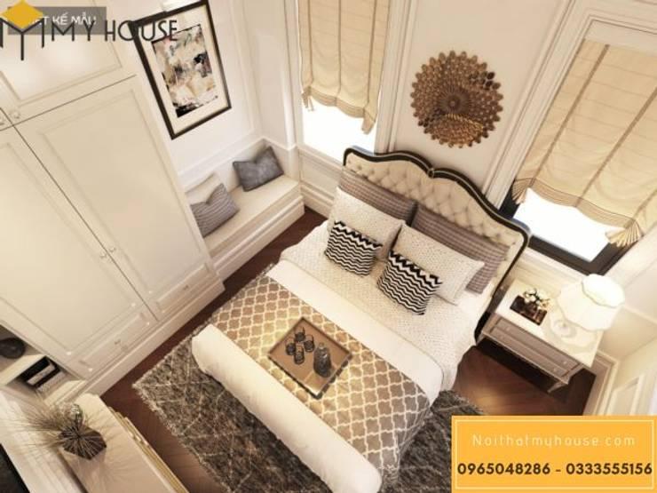 Mẫu thiết kế nội thất đẹp 2019 – Nội Thất My House:  Balconies, verandas & terraces  by Nguyễn Xuân Sơn