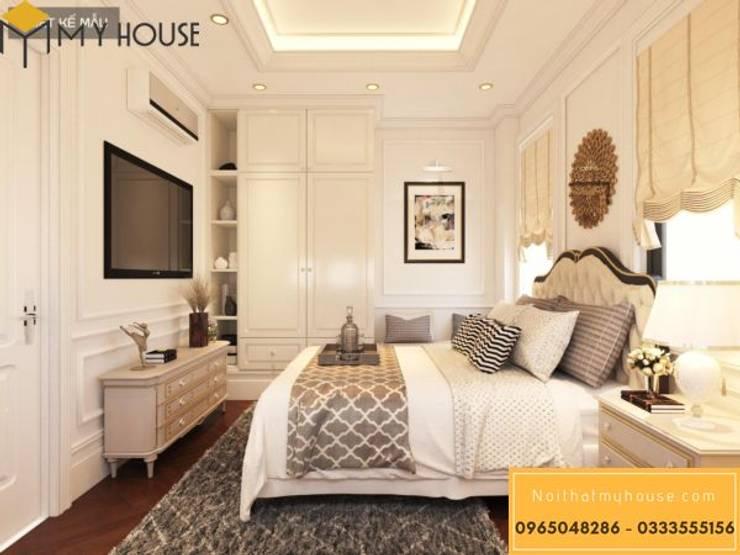 Mẫu thiết kế nội thất đẹp 2019 – Nội Thất My House:  Bedroom by Nguyễn Xuân Sơn