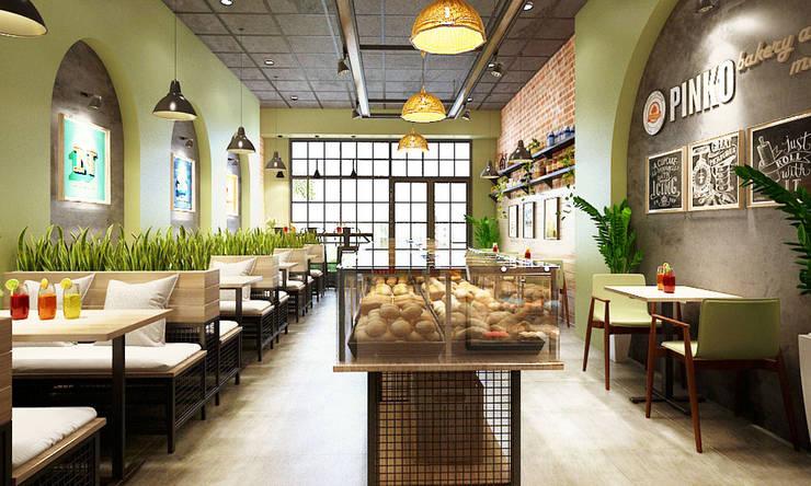 nội thất tiệm bánh:   by công ty thiết kế nhà hàng & quán cafe Hiện đại CEEB