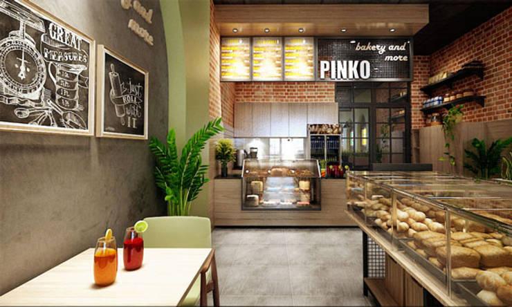 thiết kế tiệm bánh:   by công ty thiết kế nhà hàng & quán cafe Hiện đại CEEB