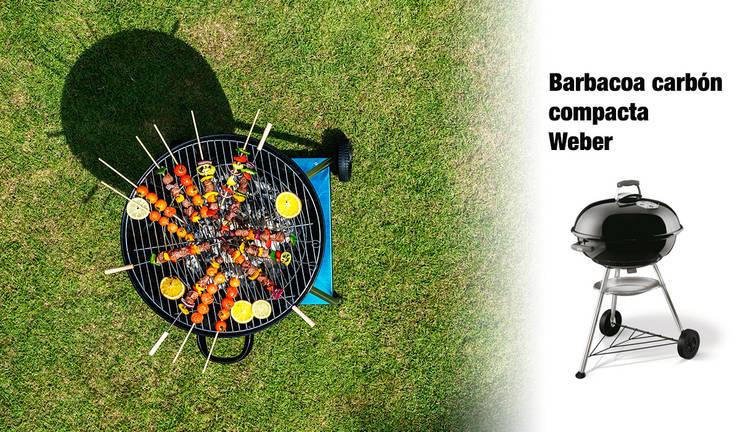 ¿Y las barbacoas de carbón?: Jardín de estilo  de ferrOkey - Cadena online de Ferretería y Bricolaje